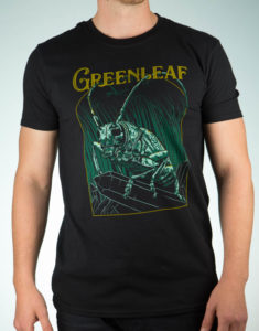 "GREENLEAF ""Subterranean"" T-Shirt BLACK - S"
