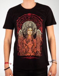 "MALLEUS ""Angel"" T-Shirt BLACK - S"
