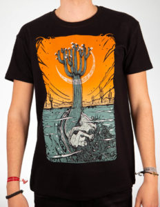 "MALLEUS ""Hugh"" T-Shirt BLACK - S"