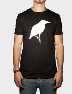 "THIEFAINE ""Corbeau Simple"" T-Shirt BLACK - S"