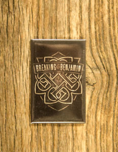 "BREAKING BENJAMIN ""Shield"" Magnet"