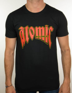 "ATOMIC BITCHWAX ""3D Logo"" T-Shirt BLACK - S"