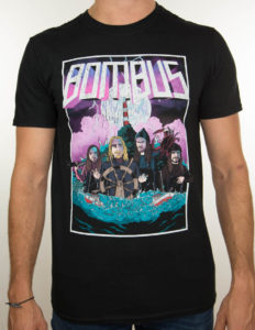 "BOMBUS ""Deadweight"" T-Shirt BLACK - M"
