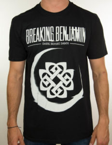 "BREAKING BENJAMIN ""dark before dawn"" T-Shirt BLACK - XL"