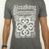 "BREAKING BENJAMIN ""Grey Logo"" T-Shirt GREY"