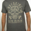 "BREAKING BENJAMIN ""Grey Skull"" T-Shirt CHARCOAL"