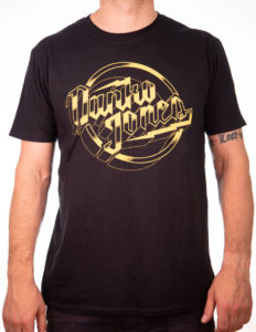 "DANKO JONES ""Classic Metal Type"" T-Shirt BLACK - S"