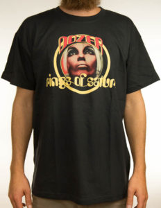 "DOZER ""RingOfSaturn"" T-Shirt USED BLACK - S"