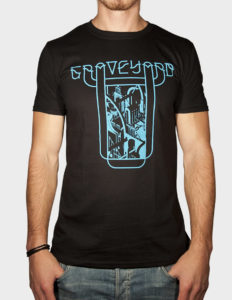 "GRAVEYARD ""Innocence & Decadence"" T-Shirt BLACK - S"