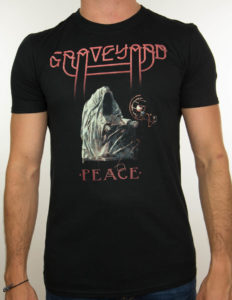 "GRAVEYARD ""Peace"" T-Shirt BLACK - M"