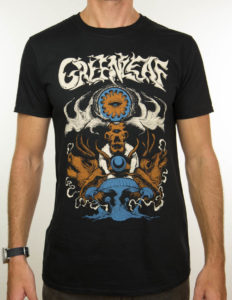 "GREENLEAF ""Elk"" T-Shirt BLACK - L"