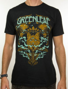 "GREENLEAF ""Lynx"" T-Shirt BLACK - S"