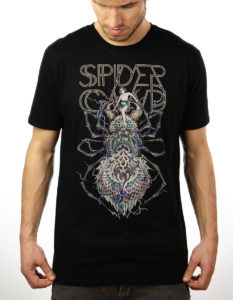 "SPIDERGAWD ""Electric Spider"" T-Shirt BLACK - S"