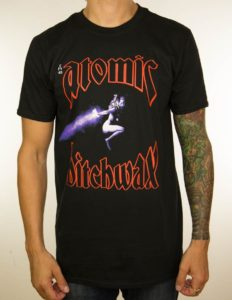 "ATOMIC BITCHWAX ""Album Cover"" T-Shirt BLACK - S"
