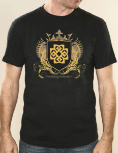 "BREAKING BENJAMIN ""Shield"" T-Shirt BLACK - M"