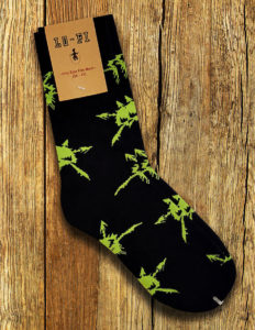 "VOIVOD ""Korgul"" Socks BLACK/GREEN"