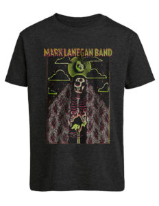 "MARK LANEGAN ""Neon Madonna"" T-Shirt GREY - S"