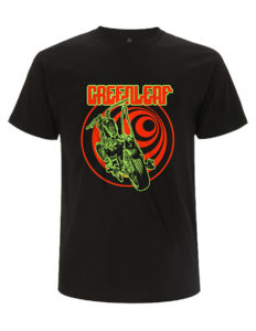 "GREENLEAF ""Chopper"" T-Shirt BLACK - XL"