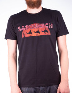"SASQUATCH ""Nomad"" T-Shirt BLACK - XL"