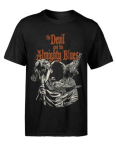 "THE DEVIL AND THE ALMIGHTY BLUES ""Faceless (Subterranean Prints)"" T-Shirt BLACK - S"