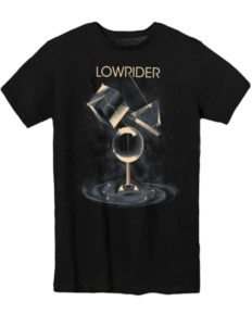 "LOWRIDER ""Refractions"" T-Shirt USED BLACK - S"