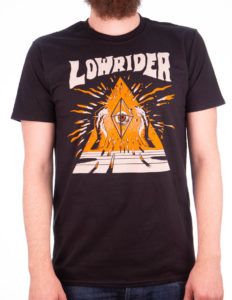 "LOWRIDER ""Triangle"" T-Shirt BLACK - S"