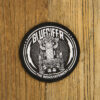 "GLUECIFER ""Rockthrone"" Patch BLACK"